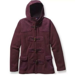 Patagonia Better Sweater Icelandic Coat burgundy